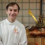 Pedro Espina en Soy, su templo de la cocina japonesa