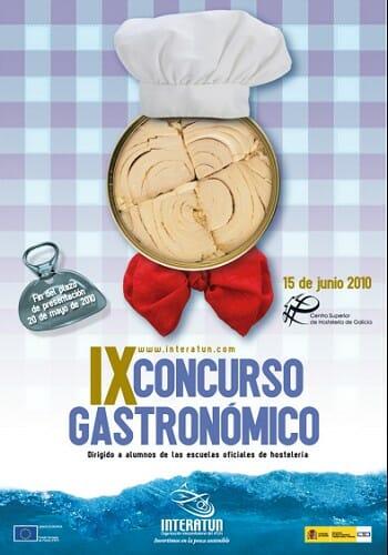 Cartel del IX Concurso Gastronómico