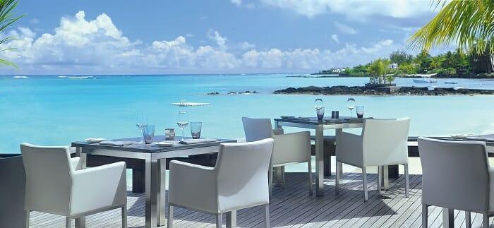 El restaurante Natureaty, en Isla Mauricio, combina alimentación sana con unas vistas increíbles al Índico