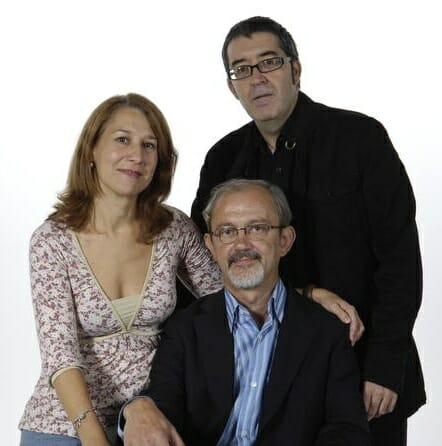 Adoración Fernández, Juan Roldán y Orlando Lumbreras, el equipo de Paisajes y Sabores