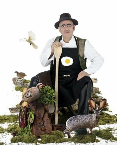 Abraham García propondrá a los espectadores cuarenta y ocho recetas cinegéticas
