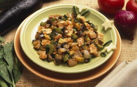 Receta de filetes de emperador troceados con verduras for Cocinar emperador