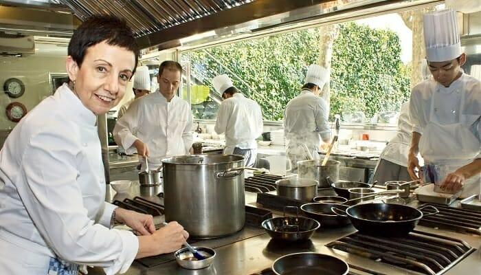 Ruscalleda ofrece una cocina de producto con intenso sabor, sin dejar por ello de sorprender al comensal