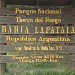 Fin de la Ruta Panamericana