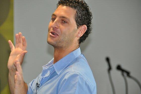 David Seijas durante su ponencia en Fenavin 2011