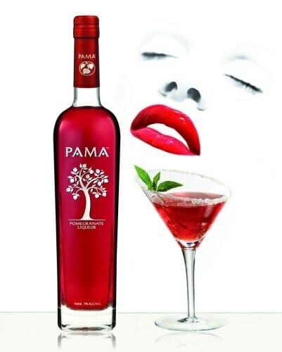 Pama es un licor de granada muy versátil por sus posibilidades en coctelería y cocina