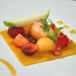 Mosaico de frutas