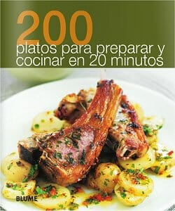 200 platos para preparar y cocinar en 20 minutos libros