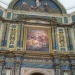 Cuadro de Goya en el altar mayor