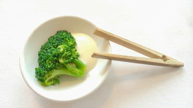 Brócoli con mayonesa de yuzu
