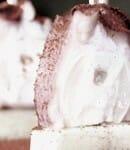 Brocheta de pulpo con cachelo, del Catering Alborada