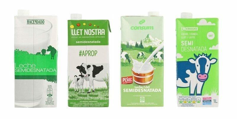 Las mejores y peores marcas de leche semidesnatada en - Mejor sitio para vivir en espana ...