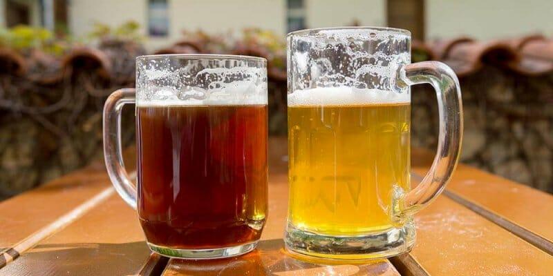Cervezas Ale y Lager
