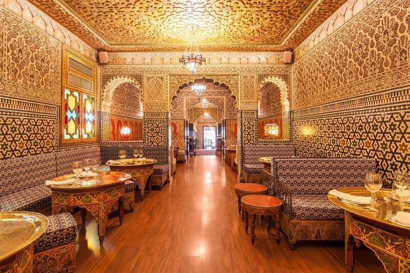 Salón restaurante Al Mounia
