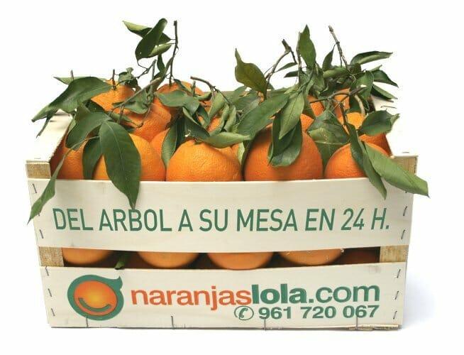 Caja de Naranjas Lola