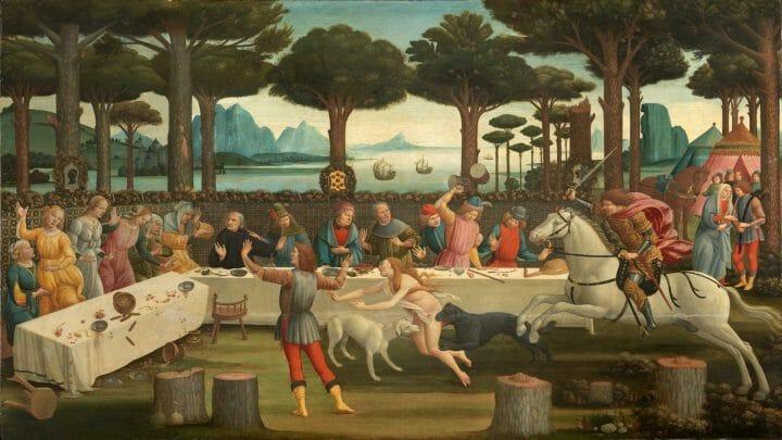 Botticelli,_nastagio_degli_onesti_03