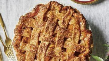 Apple Pie con pasta brisa crujiente